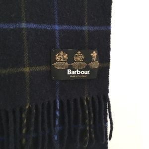 🍂 Vintage Barbour Scarf, Made in Scotland 🍂